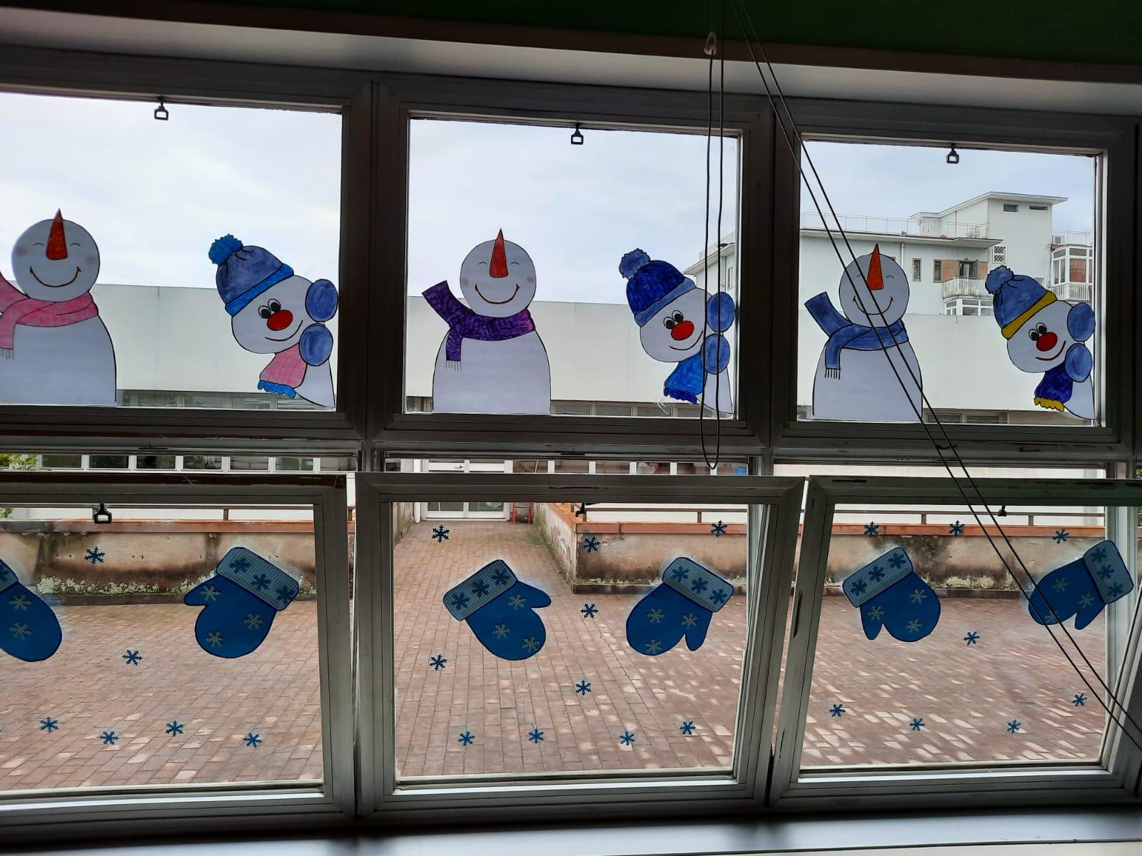 I colori dell'inverno nella scuola dell'infanzia